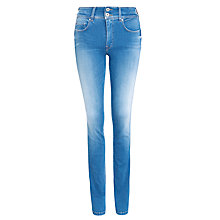 Buy Salsa Secret Push-In Slim Leg Jeans, Blue Online at johnlewis.com