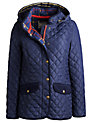Buy Joules Marcote Quilted Jacket, Navy, 8 Online at johnlewis.com