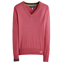 Buy Joules Tatum Jumper, Pink Online at johnlewis.com