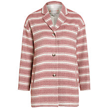 Buy Paul & Joe Sister Roland Oversized Stripe Jacket, Red Online at johnlewis.com