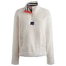 Buy Joules Bonita Fleece, Creme Online at johnlewis.com