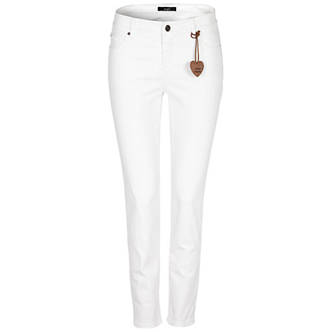 Buy Oui Jeans, Whiite Online at johnlewis.com