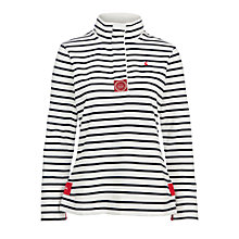 Buy Joules Cowdray Sweatshirt, Navy Stripe Online at johnlewis.com