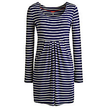 Buy Joules Alexi Stripe Tunic Dress, Indigo Stripe Online at johnlewis.com