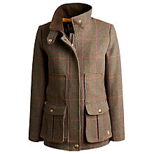 Buy Joules Field Coat, Hardytweed Online at johnlewis.com