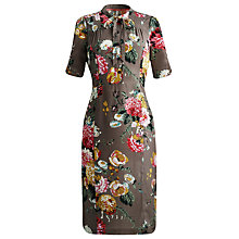 Buy Joules Carrine Dress, Taupe Posy Online at johnlewis.com