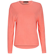 Buy Oui Fine Knit Top, Neoncoralle Online at johnlewis.com