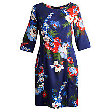 Buy Joules Lula Dress, Navy Bouquet Online at johnlewis.com