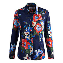 Buy Joules Maywell Shirt, Navy Bouquet Online at johnlewis.com