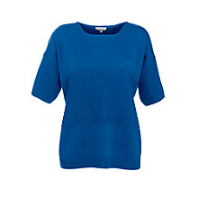 Buy Paul & Joe Sister Cotier Textured Knit, Blue Online at johnlewis.com