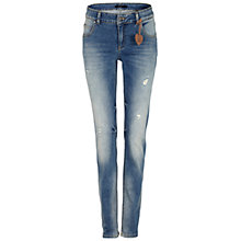 Buy Oui Jeggings, Dark Blue Online at johnlewis.com
