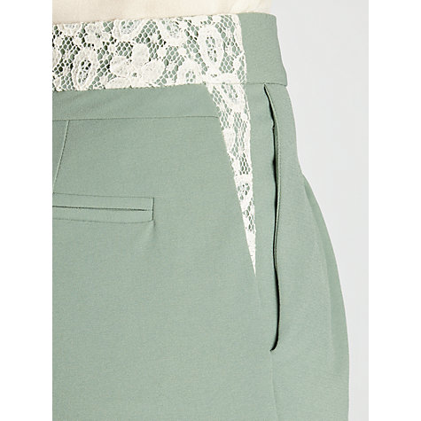 Buy Hoss Intropia Tailored Trousers, Pale Water Green Online at johnlewis.com