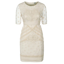 Buy Hoss Intropia Lace Dress, Ivory Online at johnlewis.com