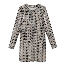 Buy Hoss Intropia Embroidered Long Coat, Ivory Online at johnlewis.com