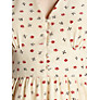 Buy Hoss Intropia Floral Tea Dress, Ivory Online at johnlewis.com