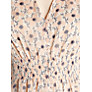 Buy Hoss Intropia Floral Button Front Blouse, Nude Online at johnlewis.com