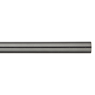 John Lewis Croft Collection Polished Steel Curtain Pole Dia.30mm