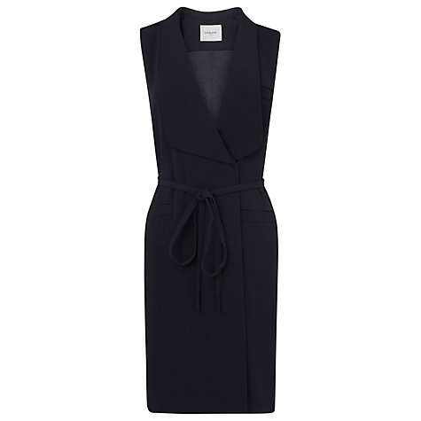 Buy L.K. Bennett Kaval Tuxedo Dress, Dark Navy Online at johnlewis.com