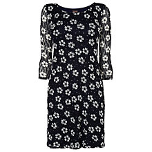 Buy Phase Eight Daisy Dot Tunic Dress, Navy/Ivory Online at johnlewis.com