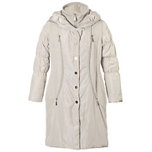 Buy Chesca Chalk Padded Coat, Neutral Online at johnlewis.com