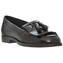 Buy Dune Lennon Loafer Shoes, Black Online at johnlewis.com