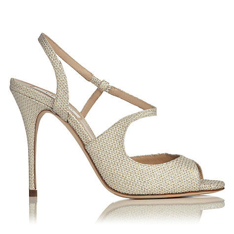 Buy L.K. Bennett Palma Asymmetric Strap Sandals Online at johnlewis.com