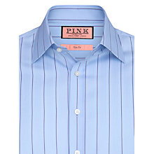 Buy Thomas Pink Calthorpe Stripe Shirt, Blue Online at johnlewis.com