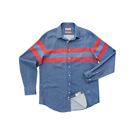 Buy Thomas Pink Travers Stripe Shirt Online at johnlewis.com