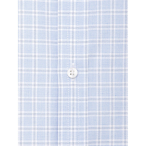 Buy Thomas Pink Ballarne Check Shirt, Blue/White Online at johnlewis.com