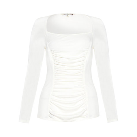 Buy Damsel in a dress Chantilly Top, Cream Online at johnlewis.com