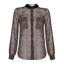 Buy Damsel in a dress Print Tempest Shirt, Nude Print Online at johnlewis.com