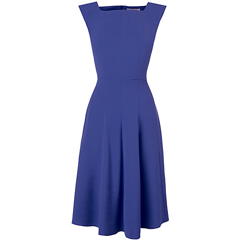 Buy L.K. Bennett Flared Dress, Bluebell Online at johnlewis.com