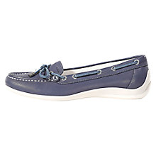 Buy Geox Yuki Leather Moccasins Online at johnlewis.com