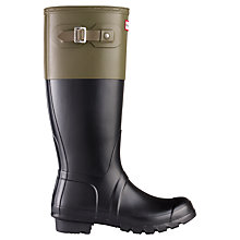 Buy Hunter Men's Two-Tone Wellington Boots Online at johnlewis.com