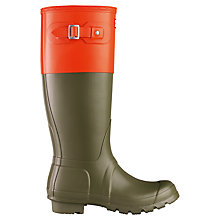 Buy Hunter Two Tone Wellington Boots Online at johnlewis.com