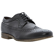 Buy Dune Ambient Round Toe Brogues, Brown Online at johnlewis.com
