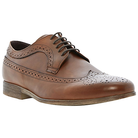 Buy Bertie Ambient Round Toe Brogues, Tan Online at johnlewis.com