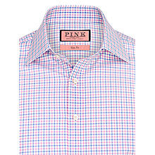 Buy Thomas Pink Keating Check Shirt, Pink/White Online at johnlewis.com