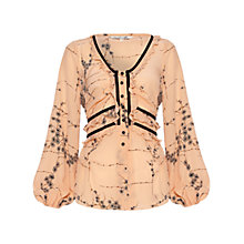 Buy Damsel in a dress Kisaragi Blouse, Blush Online at johnlewis.com