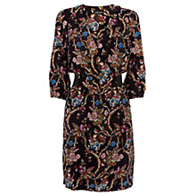 Buy Warehouse Elasticated Waist Floral Dress, Multi Online at johnlewis.com