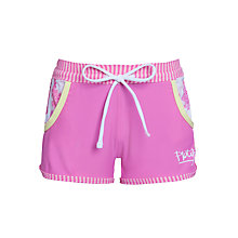 Buy Platypus Girls' Camelia Blossom Board Shorts, Pink Online at johnlewis.com