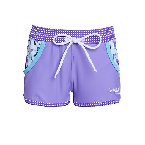 Buy Platypus Girls' Rose Board Shorts, Lilac Online at johnlewis.com