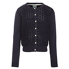 Buy Yumi Girl Knitted Lace Cardigan Online at johnlewis.com