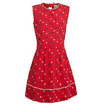 Buy Yumi Girl Bike Print Sundress, Red Online at johnlewis.com