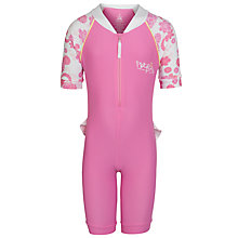 Buy Platypus Girls' Camelia Blossom Surf Suit, Pink Online at johnlewis.com