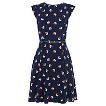 Buy Oasis Clover Print Dress, Multi Online at johnlewis.com