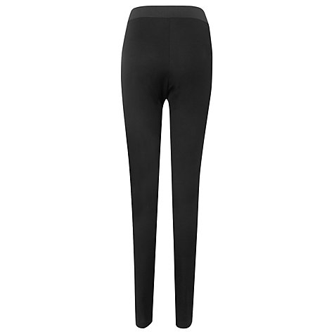 Buy L.K. Bennett Aden Skinnt Leg Trousers, Black Online at johnlewis.com