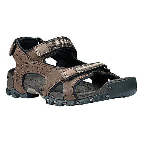 Buy Timberland Wakeby Leather Sandals, Brown Online at johnlewis.com