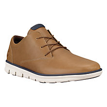 Buy Timberland Bradstreet Plain Toe Oxford Shoes, Brown Online at johnlewis.com
