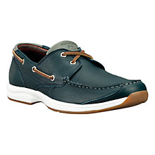 Buy Timberland Earthkeepers Hulls Cove 2-Eye Boat Shoes, Navy Online at johnlewis.com